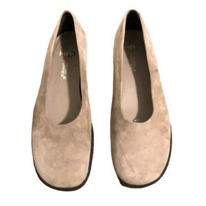 Hush Puppies Gloria Shoes Oatmeal Suede